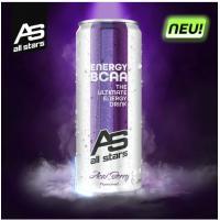 All Stars Energy BCAA Acai marja 330ml -  funktsionaalne ergutav ja lihastaastumist soodustav jook