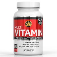 Päevane annus multivitamiine 90 kapslit - All Stars Multi-Vitamin