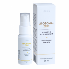 Pihustatav, liposoomse tehnoloogiaga tsink- Liposomal Zinc Spray