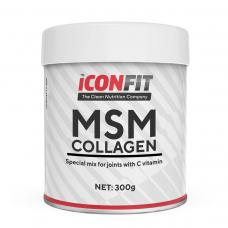 ICONFIT MSM Collagen + Vitamiin C (Liigestele, 300g)