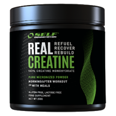 100% kreatiin-monohüdraat- SELF Real Creatine 250g