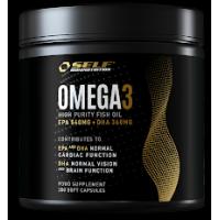 Asendamatud oomega-3-rasvahapped, tugevab immuunsust ja aitab kaasa rasvapõletusele - SELF Omega3 (280 geelkapslit)