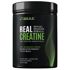 100% kreatiin-monohüdraat- SELF Real Creatine 500g