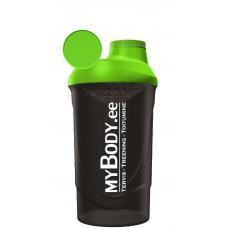 MyBody must-roheline shaker - BPA-vaba ja külmumiskindel