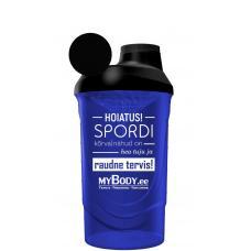 MyBody Estonia shaker - BPA-vaba ja külmumiskindel