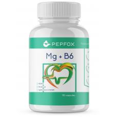 Magneesiumtsitraat +B6 -PEPFOX Mg+B6