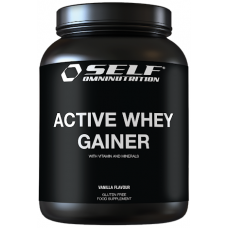 Taastusjoogipulber sportlastele ja harrastajatele -  SELF Active Whey Gainer 2kg+2kg (1kg hind 13.75€)