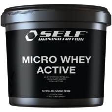 Väga kõrge bioloogilise väärtusega vadakuvalgu isolaat - SELF Micro Whey Active